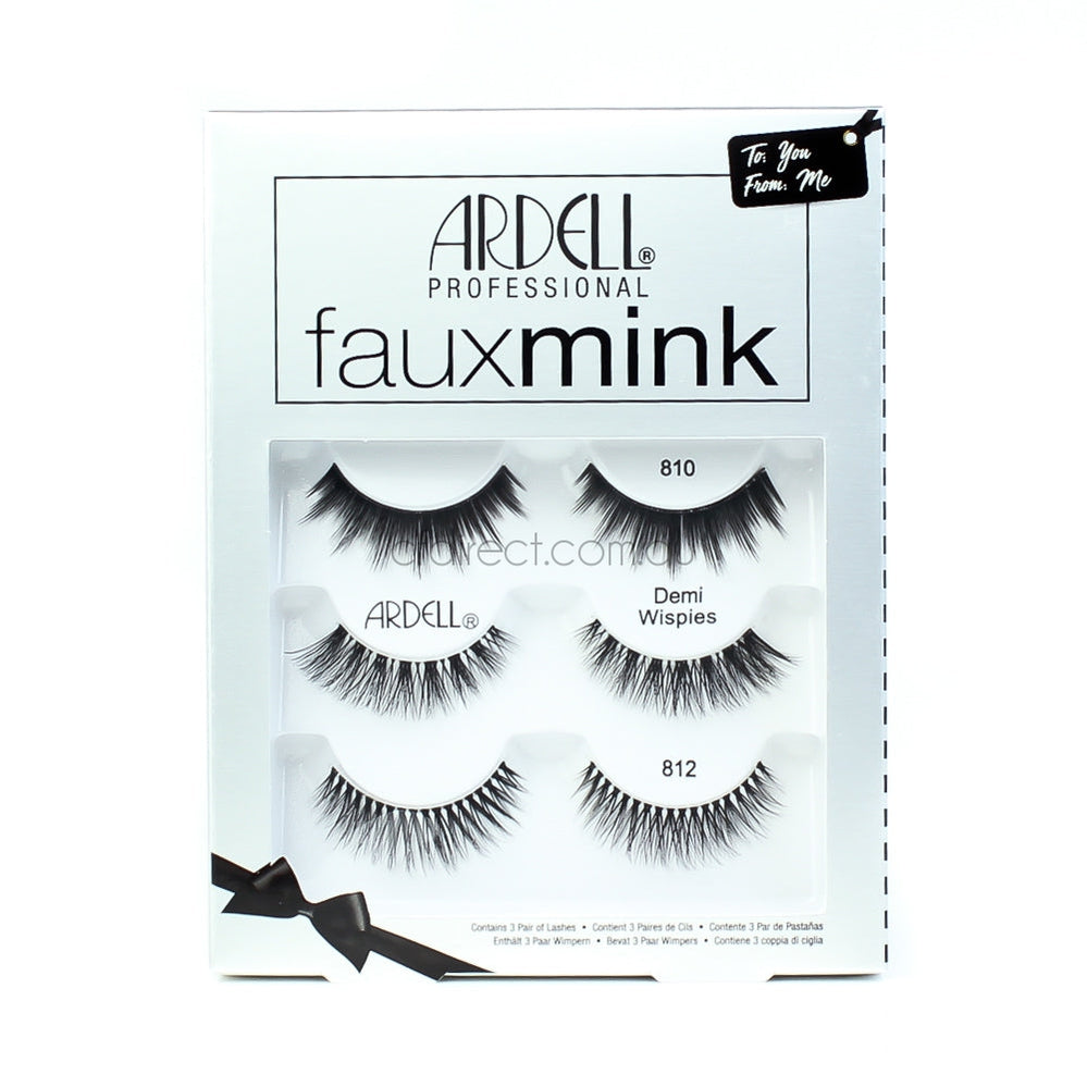325f2e56430 Ardell Faux Mink 3pack - Cosmetics Fragrance Direct