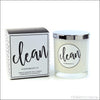 Triple-Scented Soy Candle - Clean