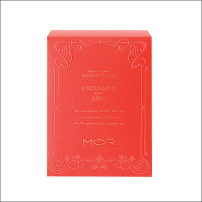 MOR Cyclamen & Lily Candle 380g