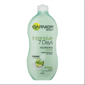 Garnier Body Intensive 7 Days Nourishing Lotion - Aloe Vera 400ml