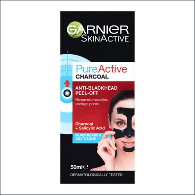 Garnier Pure Active Charcoal Peel Off Mask 50ml