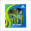 Adidas Get Ready After Shave Gift Set