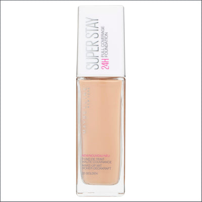 Maybelline SuperStay 24HR Full Coverage Liquid Foundation - Golden 32