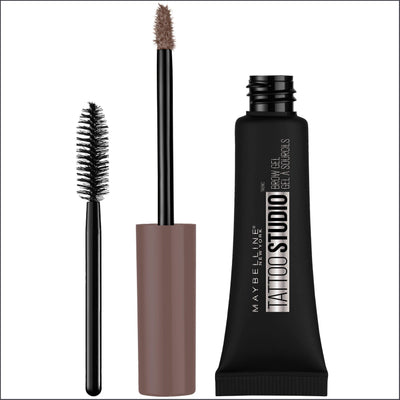 Maybelline Tattoo Studio Waterproof Brow Gel Medium Brown 6.8 mL