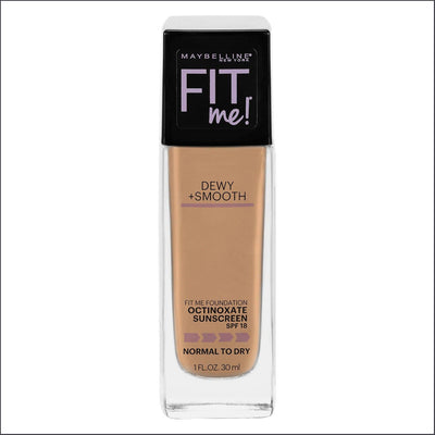 Maybelline Fit Me Dewy & Smooth Luminous Liquid Foundation - Sun Beige 310