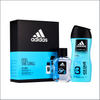 Adidas Ice Dive Eau De Toilette 50ml 2 Piece Gift Set