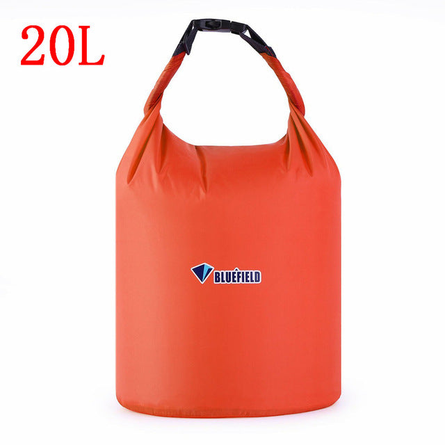Bluefield Outdoor Swimming Waterproof Bag Camping Rafting Storage Dry Bag with Adjustable Strap Hook 10L/20L For Snorkeling