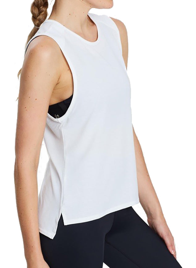 Cut It Out Sleeveless Tee