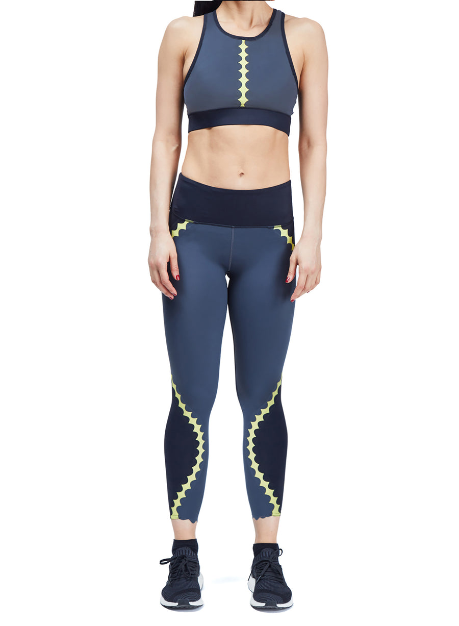 Scallop Legging Set