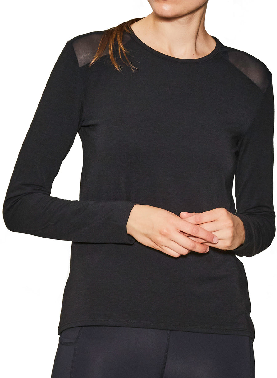 Cut It Out Long Sleeve Top