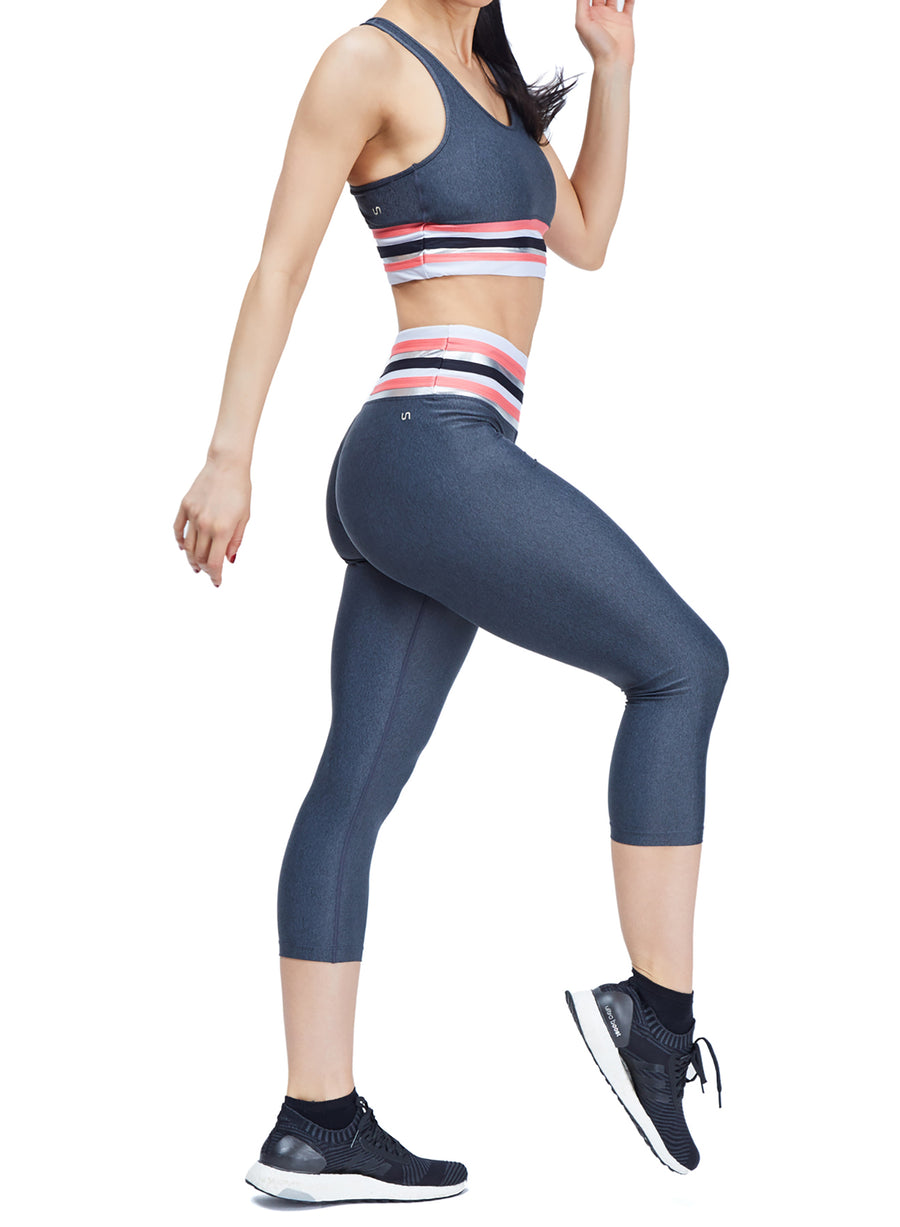 Tri Legging + Tri Bra Set
