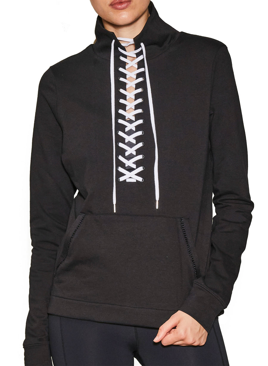 Laced Up Pullover