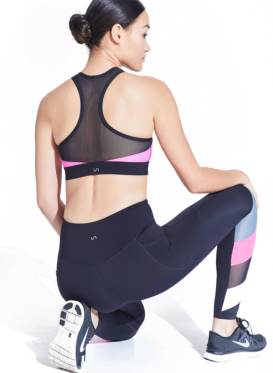 Blocked Legging Set