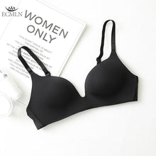 Load image into Gallery viewer, 2pcs Seamless Sexy Bra for Women Bralette Wire Free Push Up Bra Brassiere Female Underwear 4 Colors Lingerie Fitness Intimates