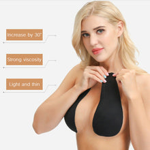 Load image into Gallery viewer, Silicone Nipple Cover Lift Tape Bra