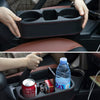 Car Gap Filler Organizer Car Seat Console Organizer with 2 Pack Car Headrest Hooks