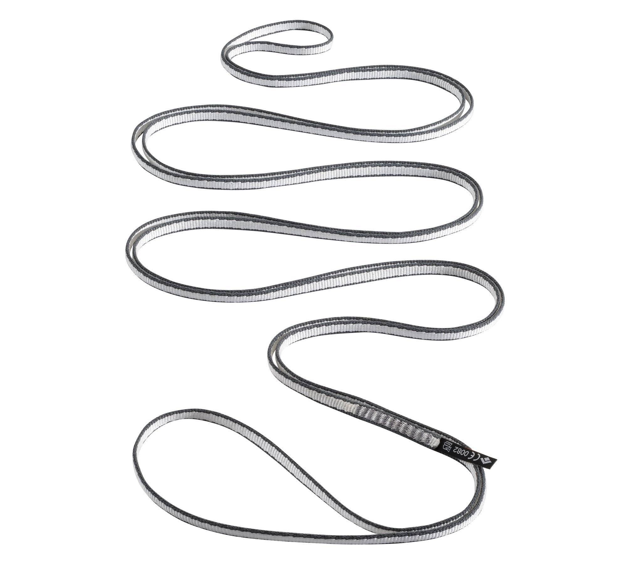 Black Diamond Dynex climbing Sling 10mm x 240cm, in grey colour