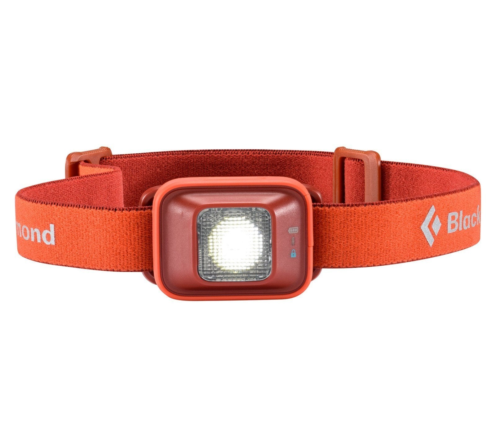 Black Diamond Iota head torch, in red colour