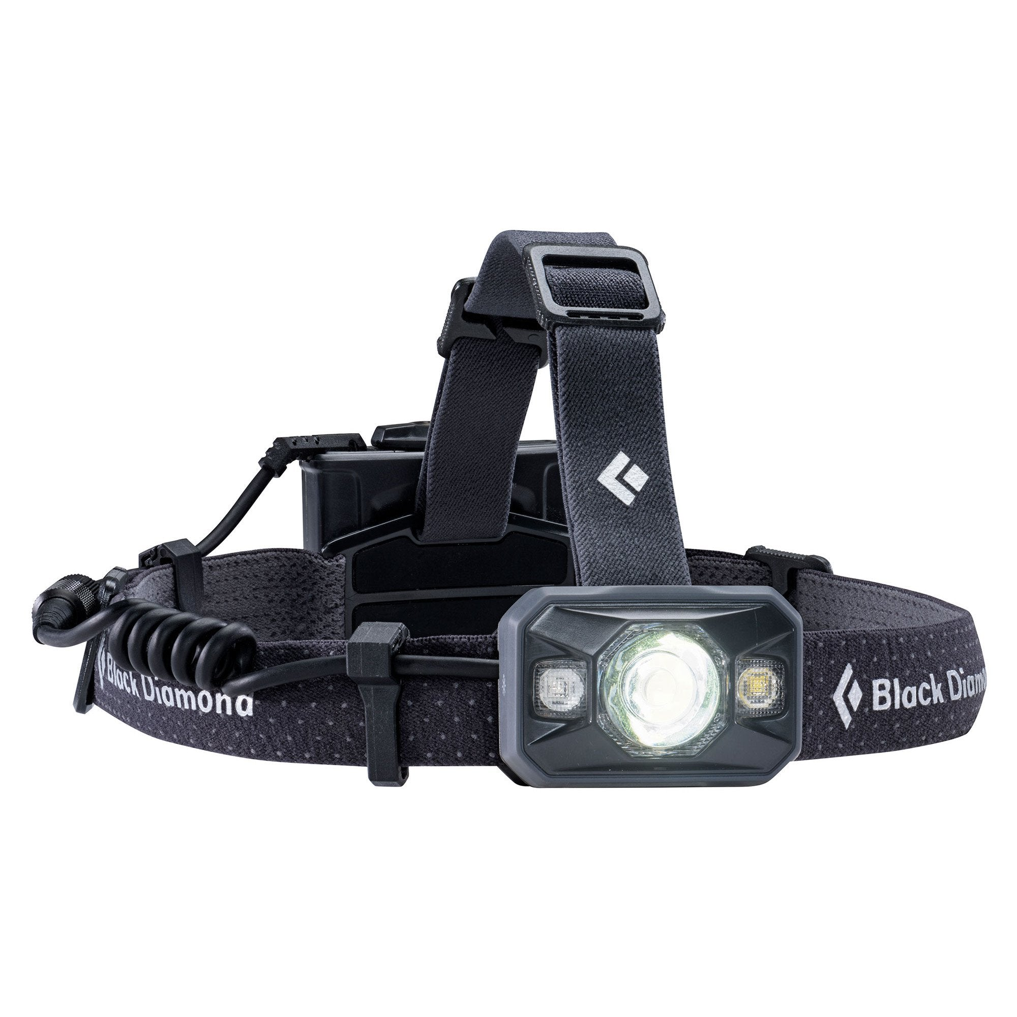 Black Diamond Icon headlamp, in black colour