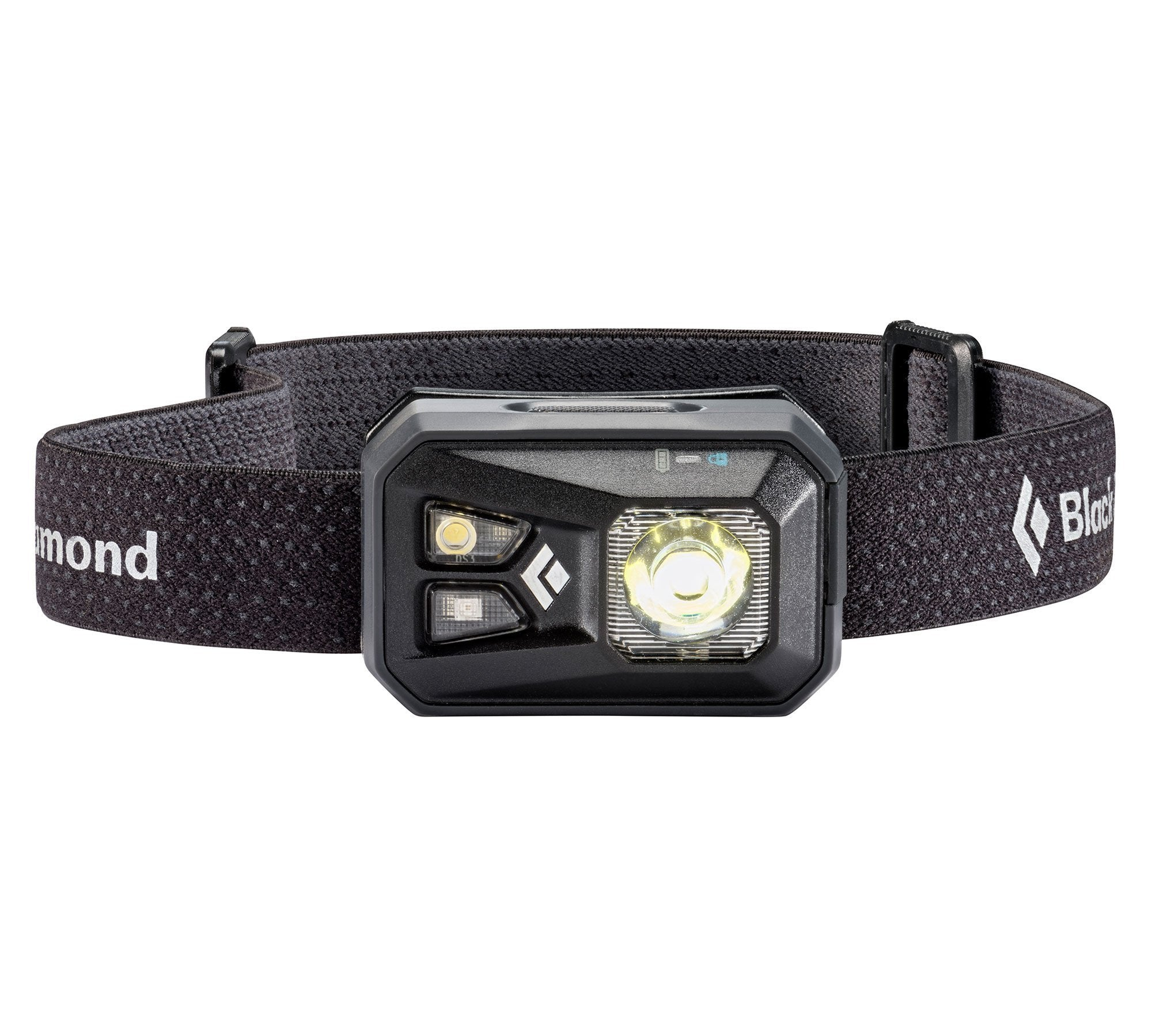 Black Diamond ReVolt head torch, in black colour