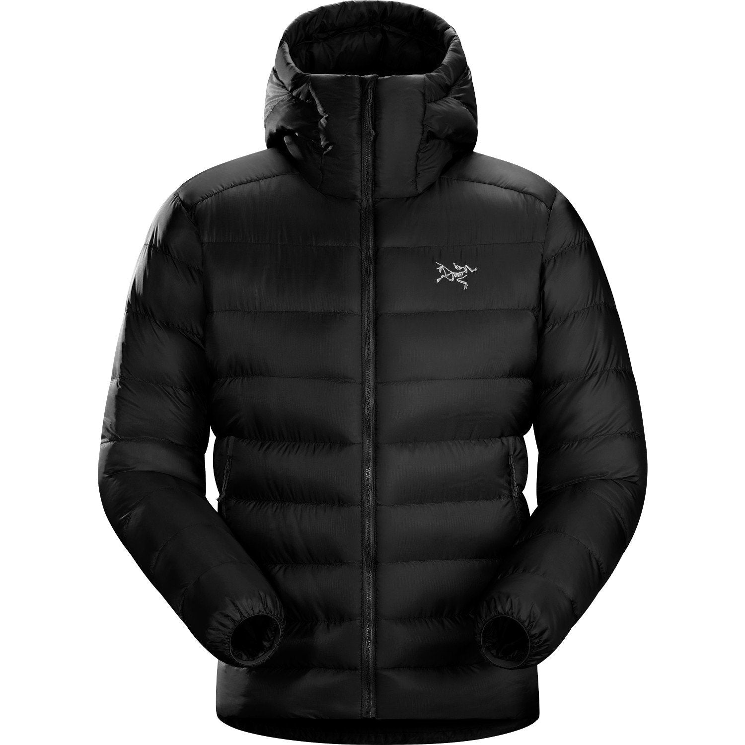 Arc'Teryx Cerium SV Hoody in Black. Front View