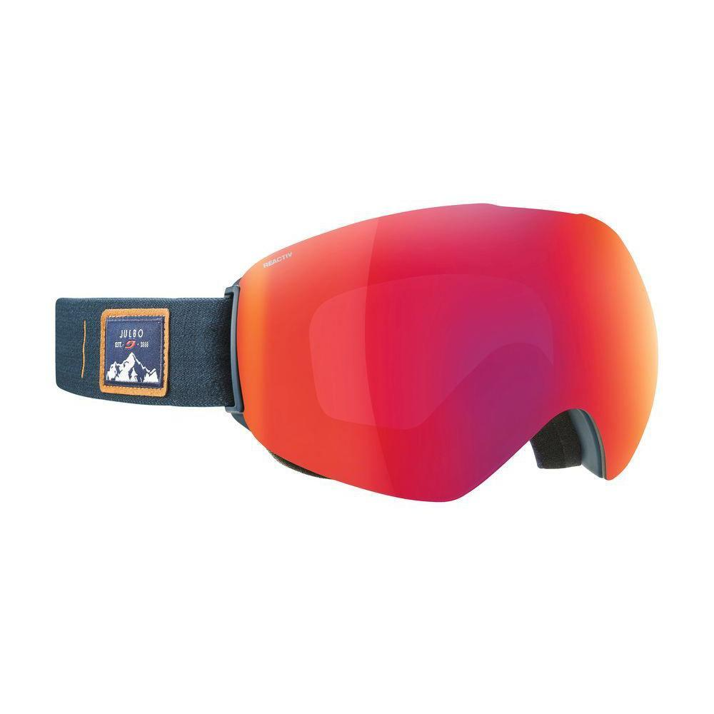 Julbo Skydome Reactiv All-round Cat 2-3 Goggles in Blue with Red lenses