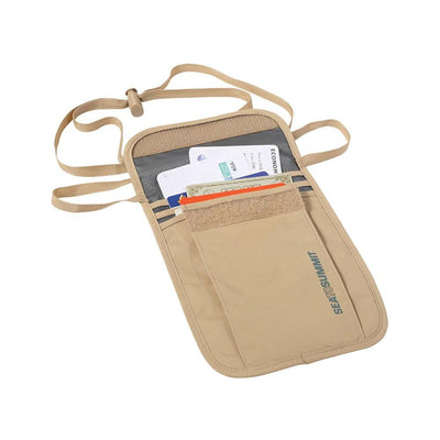 Sea to Summit Neck Pouch 3 (Sand) 2-Pack - Umhängebeutel