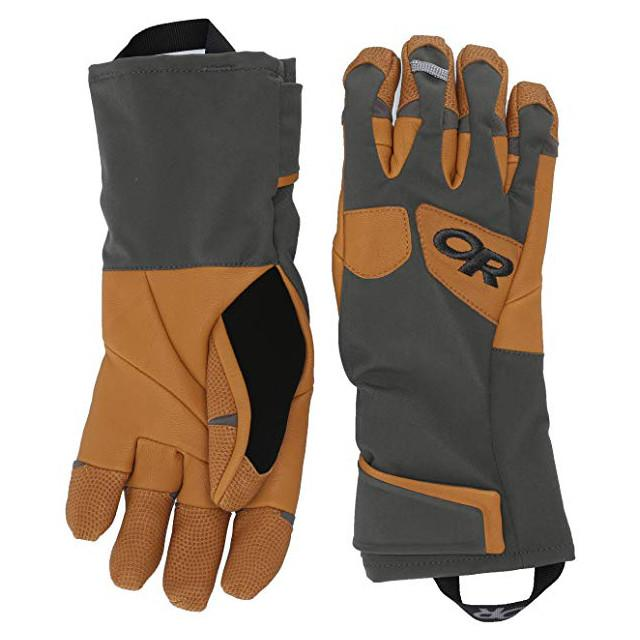Outdoor Research Extravert Gloves in brown/charcoal