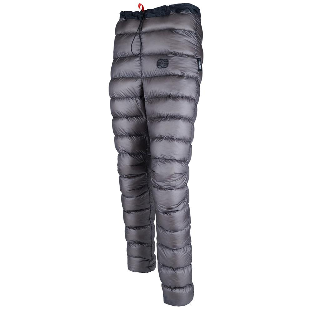 Cumulus Basic Down Pants, front/side view in Grey colour