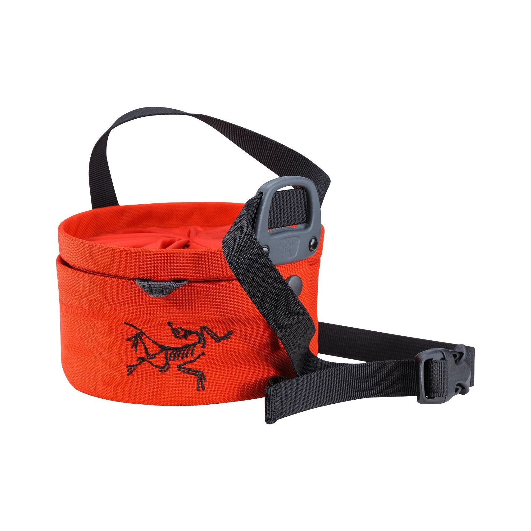 ArcTeryx Aperture climbing Chalk Bag (Large), in red