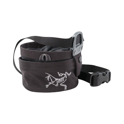 ArcTeryx Aperture Chalk Bag (Small), in Black