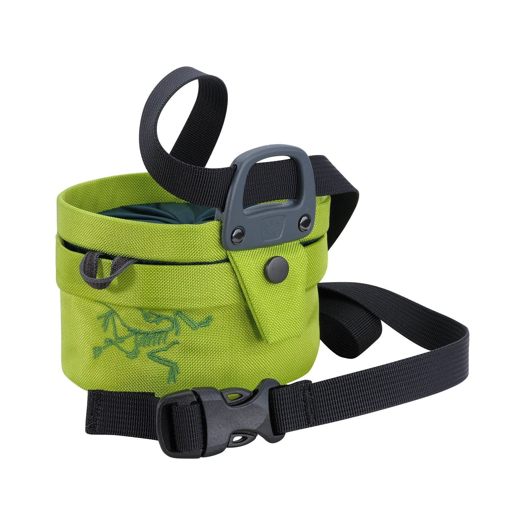 ArcTeryx Aperture Chalk Bag (Small), in green