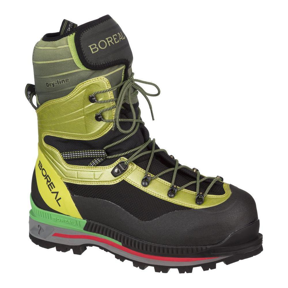 Boreal G1 Lite Mountaineering Boot, in black and yellow colours