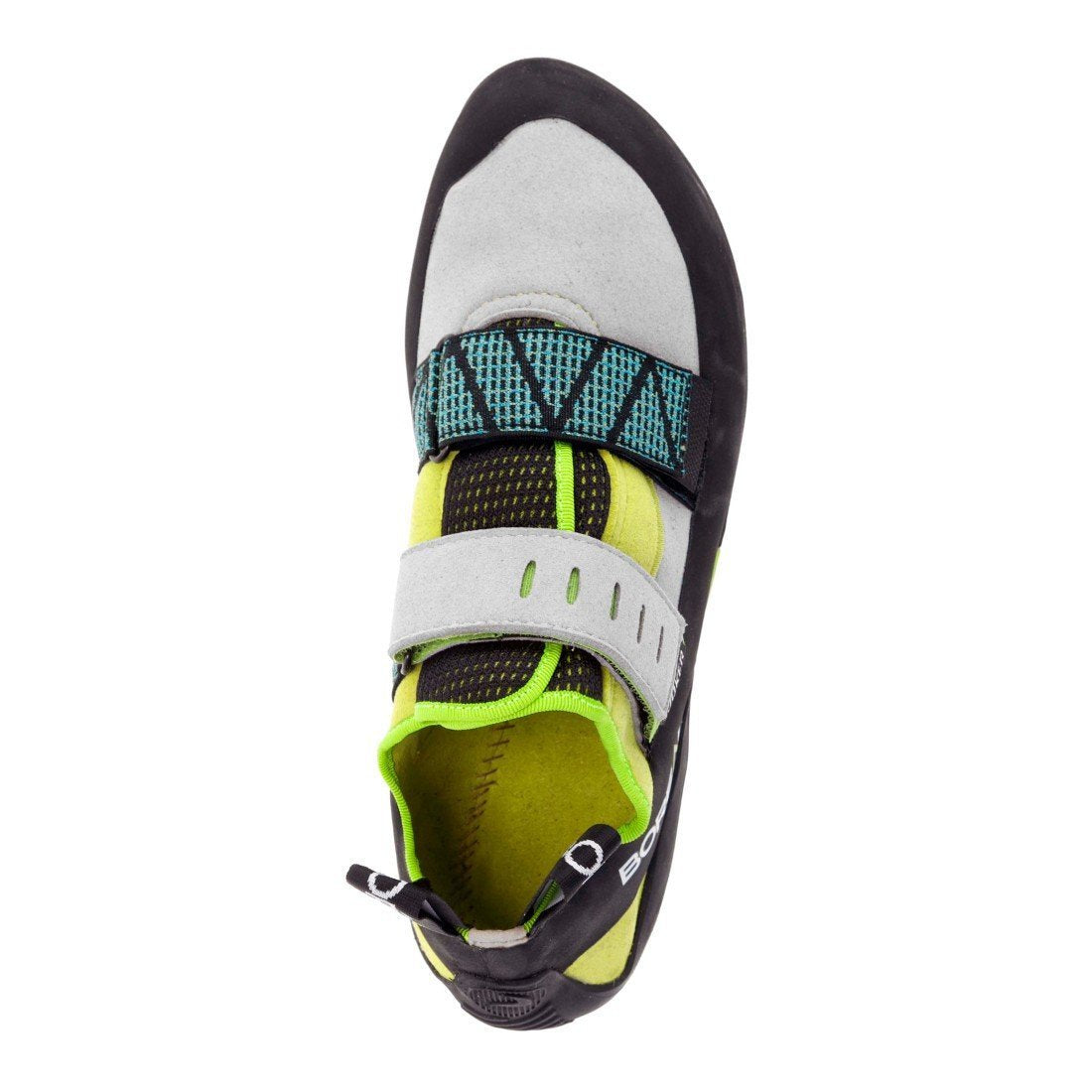 Boreal Alpha VC climbing shoe birds eye view