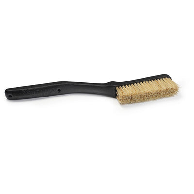 Sublime Slim Boars Hair Climbing Brush shown laid flat in black colour