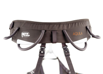 Petzl Aquila Harness, gear loop design detail