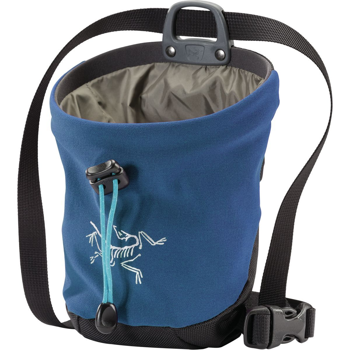 ArcTeryx C40 Chalk Bag, in blue colour
