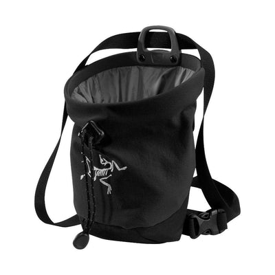 ArcTeryx C40 climbing Chalk Bag, in Black