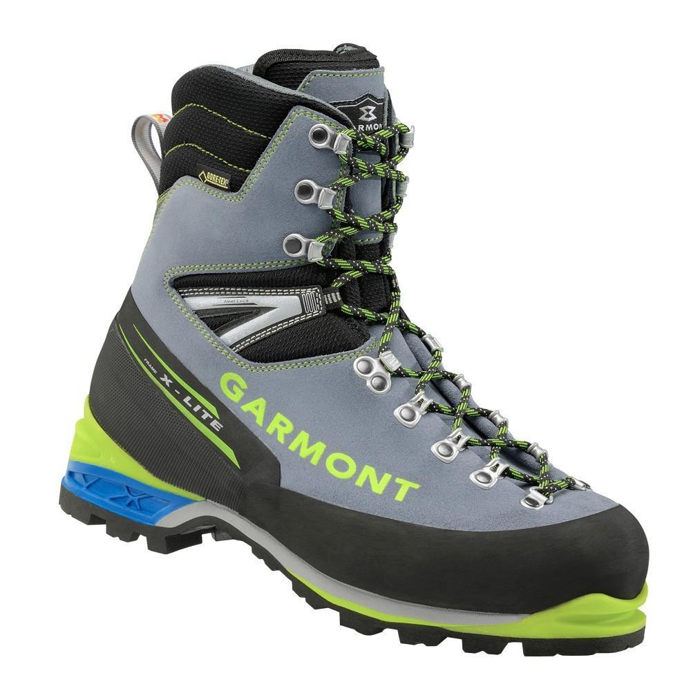 Garmont Mountain Guide Pro GTX Mountaineering Boot in black, grey and green colours