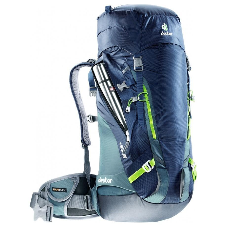 Deuter Guide 35+ rucksack in blue, grey and green colours