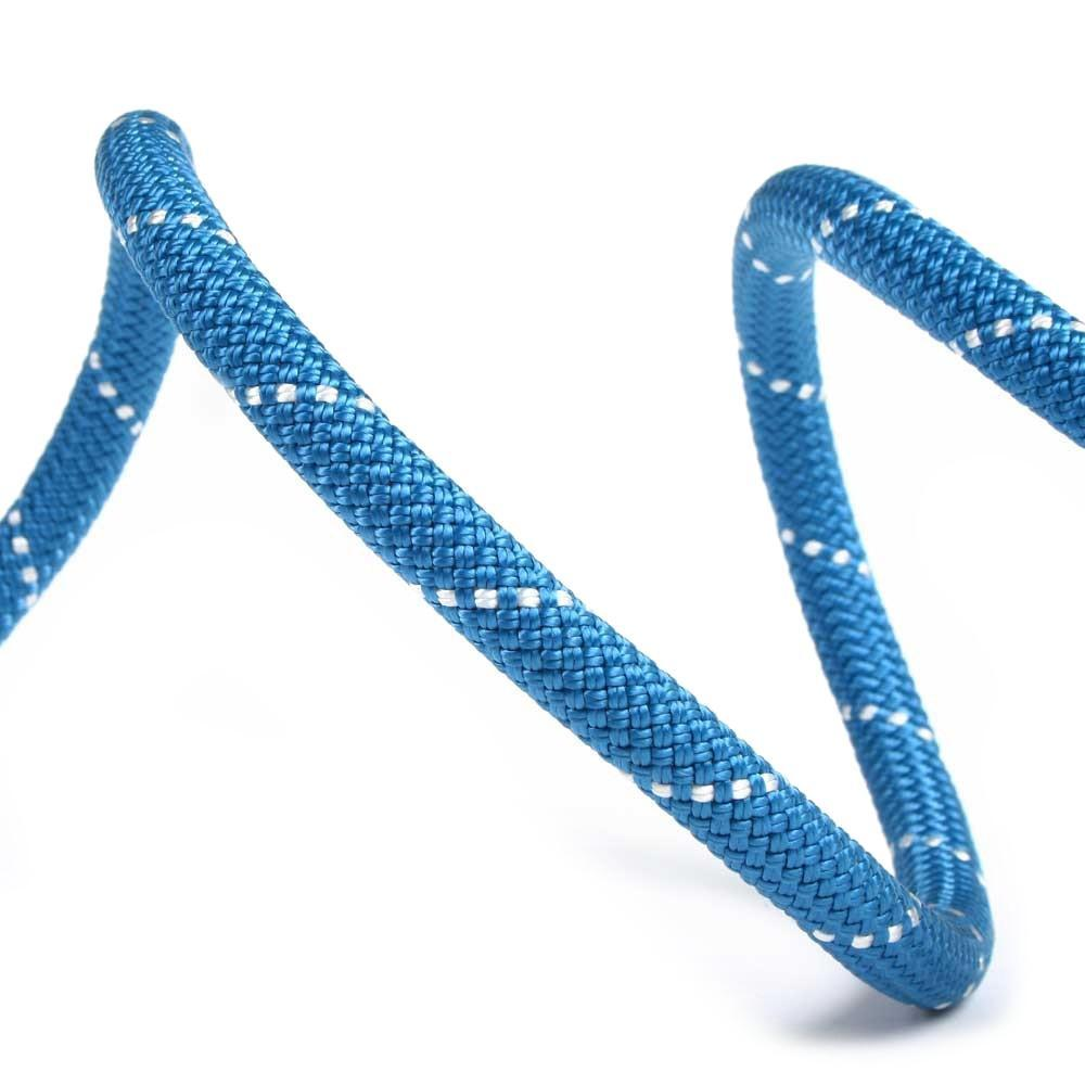 Edelweiss Rocklight II 9.8mm 50m climbing rope in blue