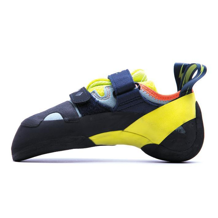 Evolv Shakra climbing shoe, view showing inside