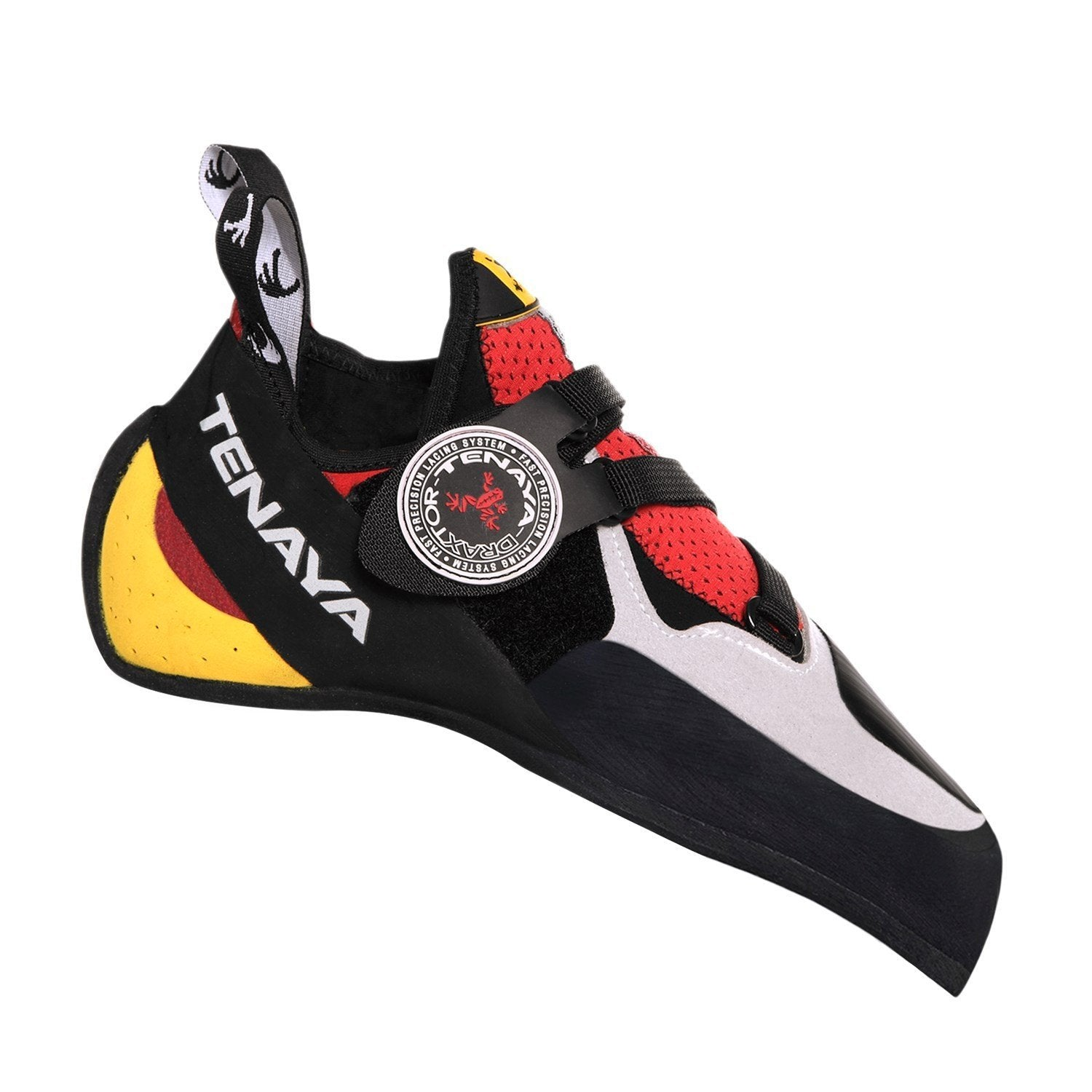 Outer side view of the Tenaya Iati climbing shoe