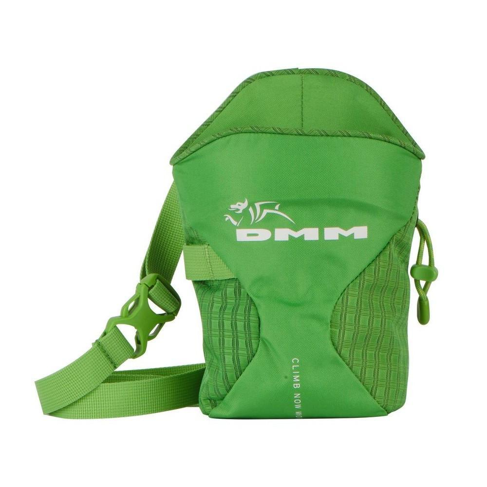 DMM Traction climbing chalk bag, in green