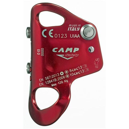 Camp Turbo Chest ascender, side view in red colour