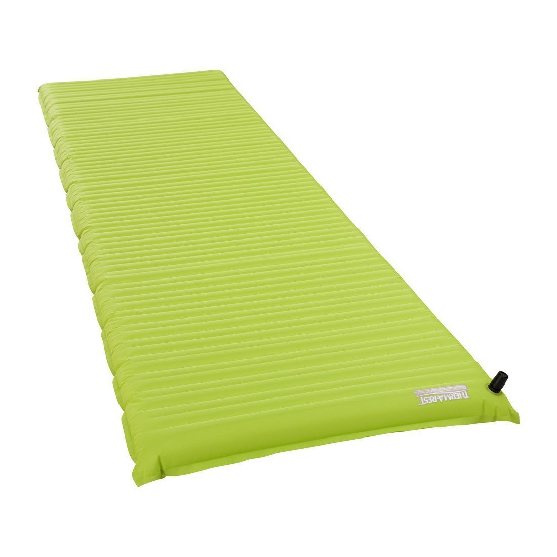 Thermarest NeoAir Venture Regular camping mat, shown laid flat and inflated