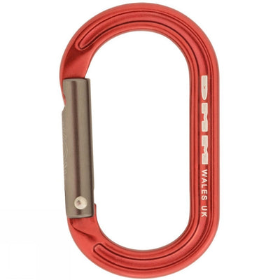 DMM XSRE carabiner in Red