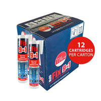 Multi-Fix 9 in 1 Instant Grab Adhesive - White
