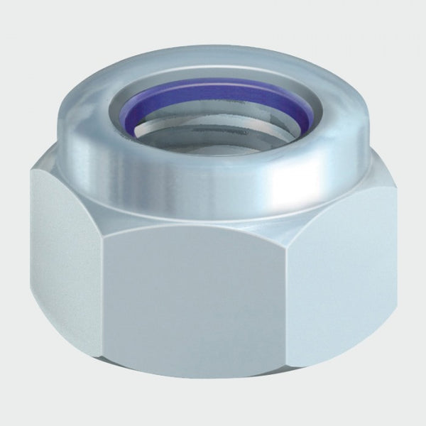 Nylon Nut -Type P - Zinc