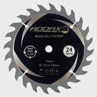 Hand-Held Cordless Circular Saw Blades